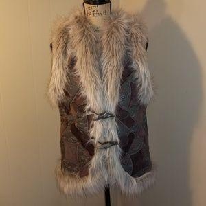 Free People Fur Vest